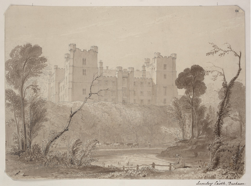 Lumley Castle f. 24